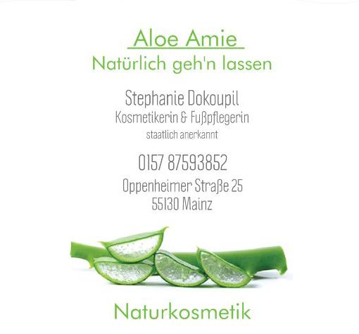 """Aloe Amie """"Natürlich geh'n lassen"""""""