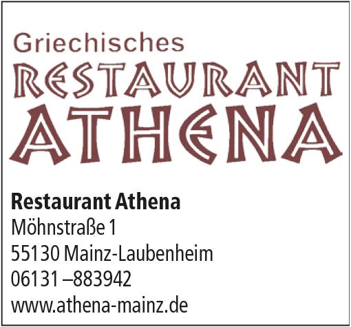 """Gaststätte """"Athena"""""""