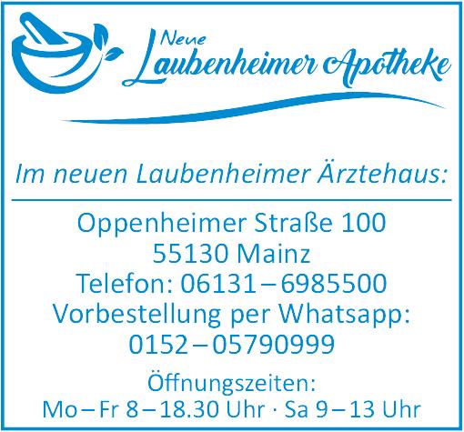 Neue Apotheke Laubenheim